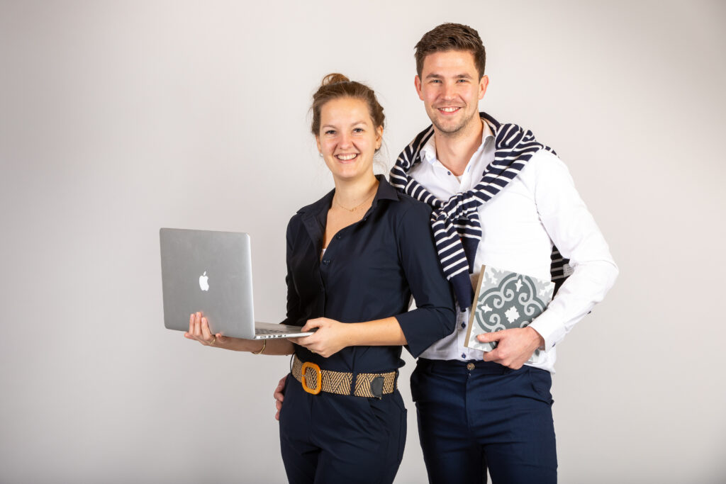 Maic en Roxanne - contactpagina - IK WIL BALKONTEGELS .NL